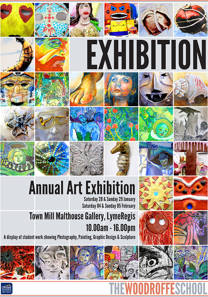 exhibition poster woodroffe annual 24th